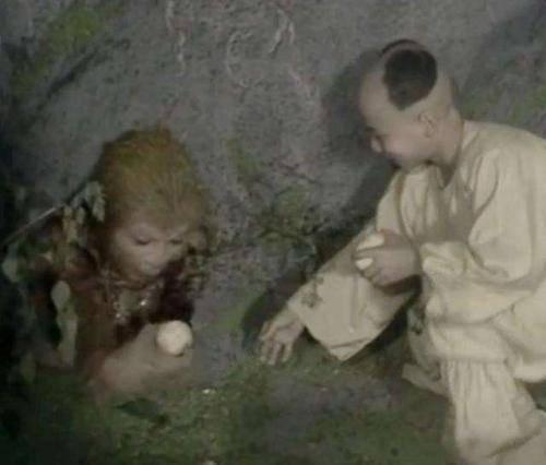 五行山下神秘的送桃童子是谁?果真是菩提祖师?