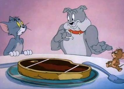 猫和老鼠中这些食物现实里都有 小时候挺馋 现在想吃就能买到