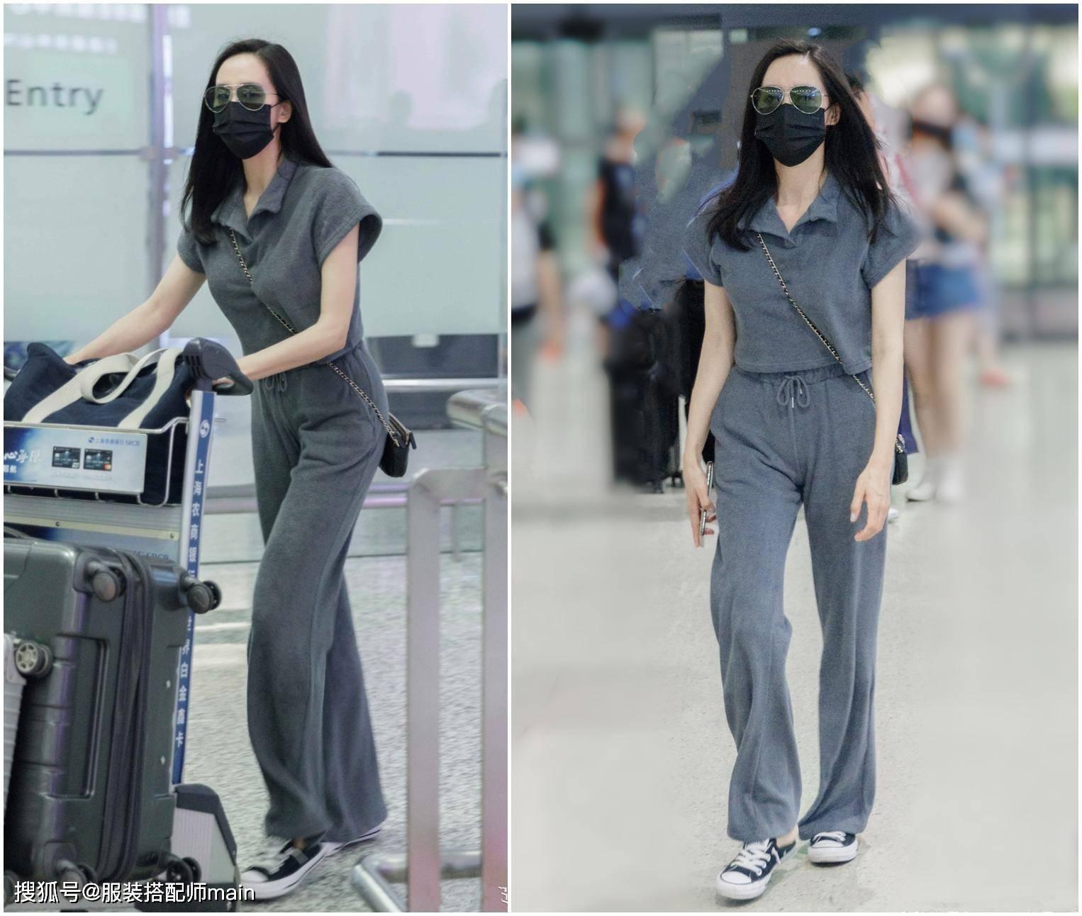 原创             王智晒健身美照,豹纹T恤+瑜伽裤凹凸感十足,38岁辣妈不简单
