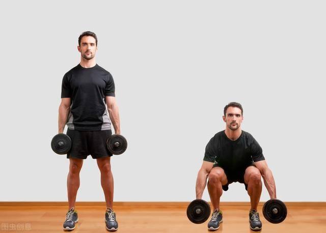 深蹲,健身黄金动作!长期坚持深蹲,你会收获什么好处?