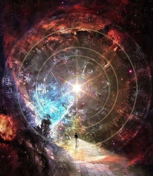 维度的不同,生命的形状自然不同,维越高,生命进化的水平就越高