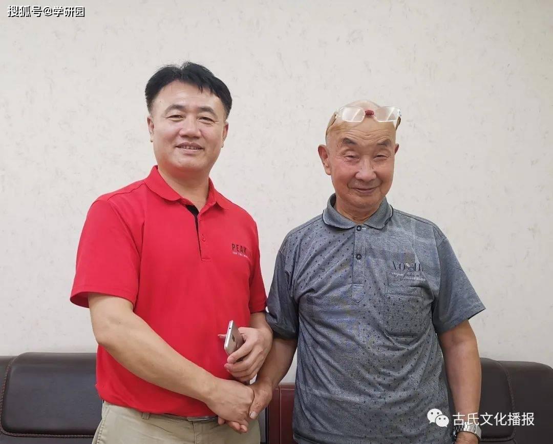 """古小彬讲述:年近八旬四川宗亲来广东"""""""