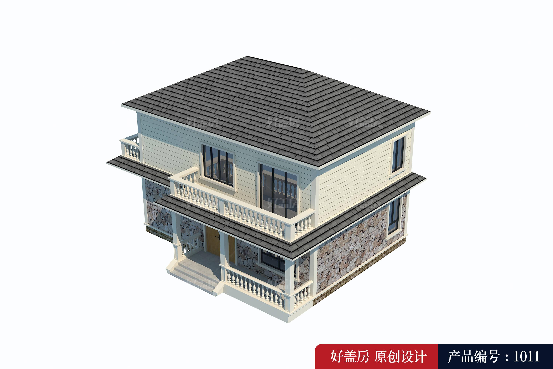 两层楼房设计图农村 自建