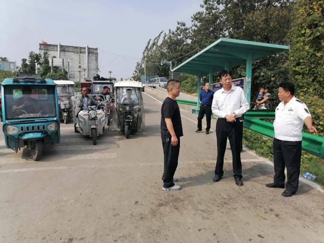 亳州市交通运输局开展双节首日安全生产及疫情防控大检查