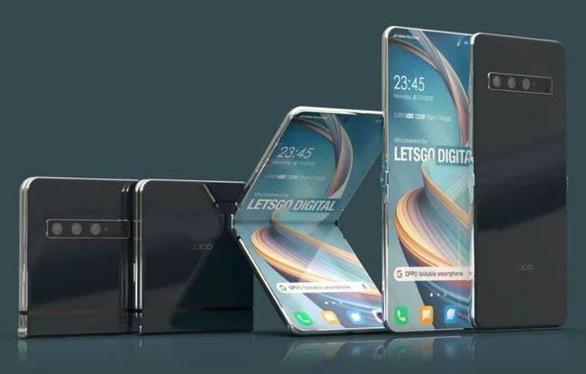 OPPO内翻折叠屏手机专利曝光 铰链设计独特是最大亮点