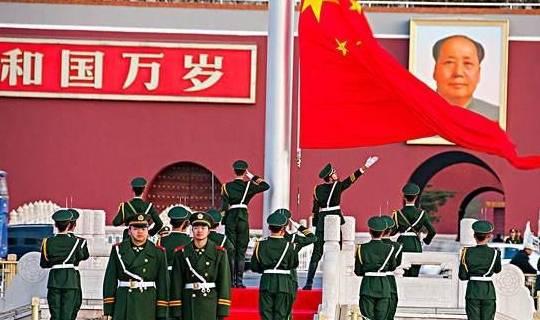 天安门升起了国旗 为什么它会升到28.3米