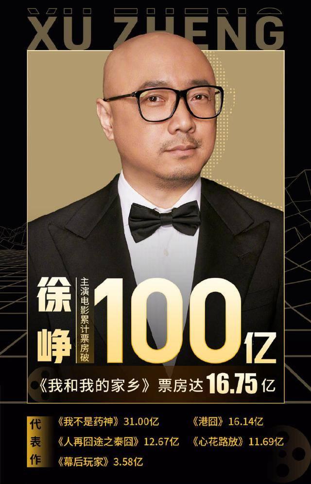 百亿票房演员增至10位,吴京居首,但这3位明显不够说服力