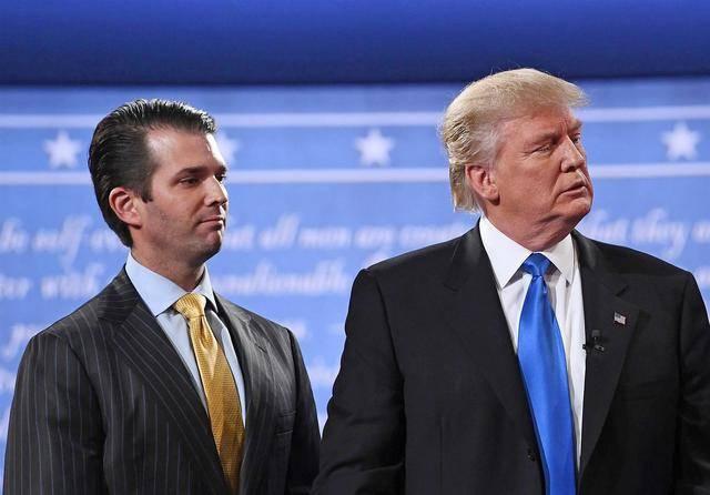 特朗普儿子也想当总统?之前有意竞选纽约市长被老爸泼冷水