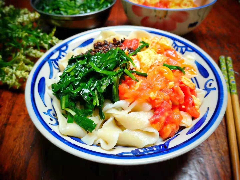 秋天就爱吃这碗饭,一按一拉,一次3碗不够吃,劲道光滑有营养