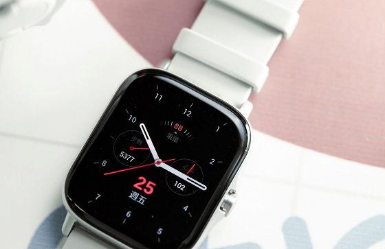 更轻更随心,Amazfit GTS2智能手表带来无感佩戴体验,重量仅有24.7克