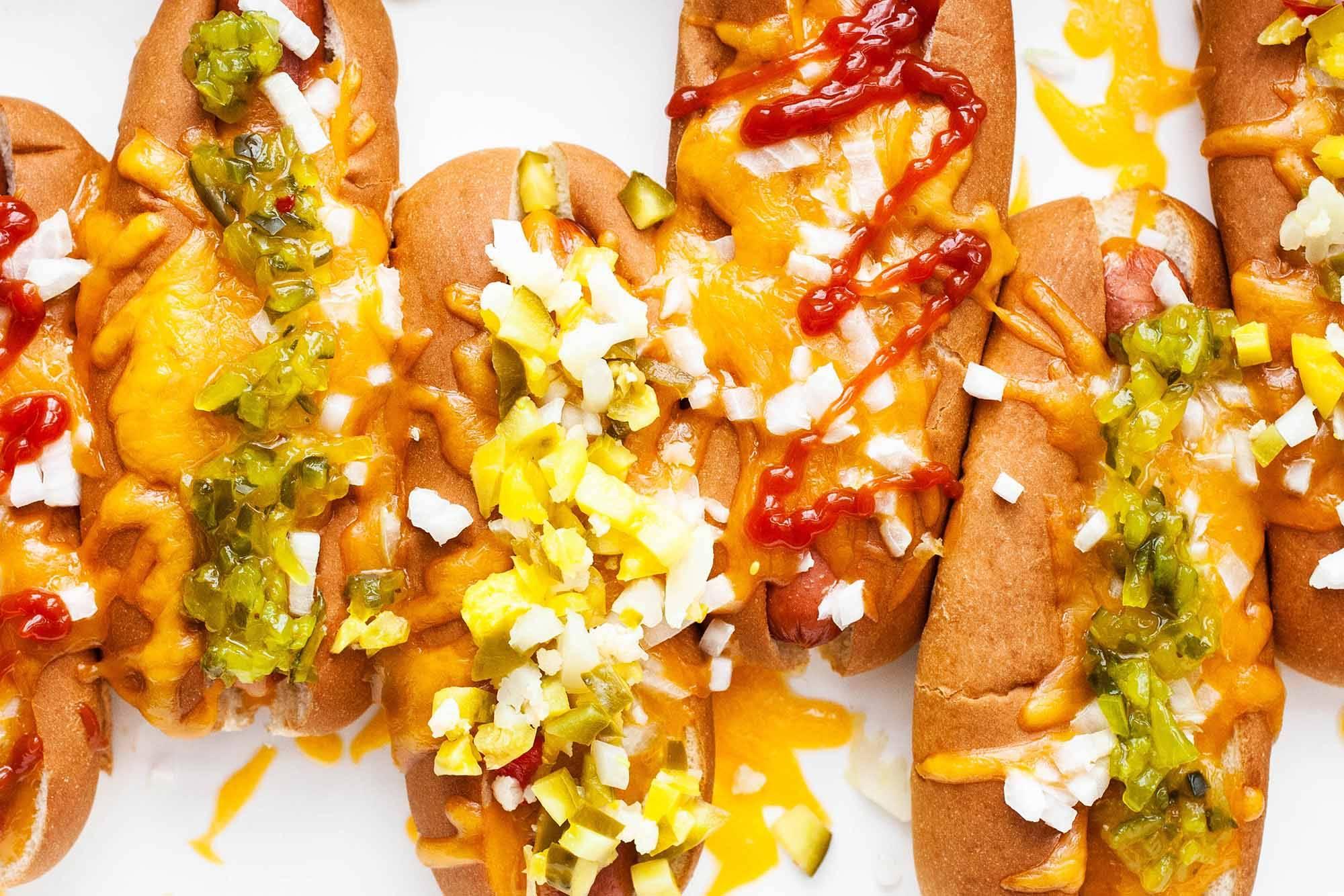 楚多米美食:家里做的烤热狗味道不比外面