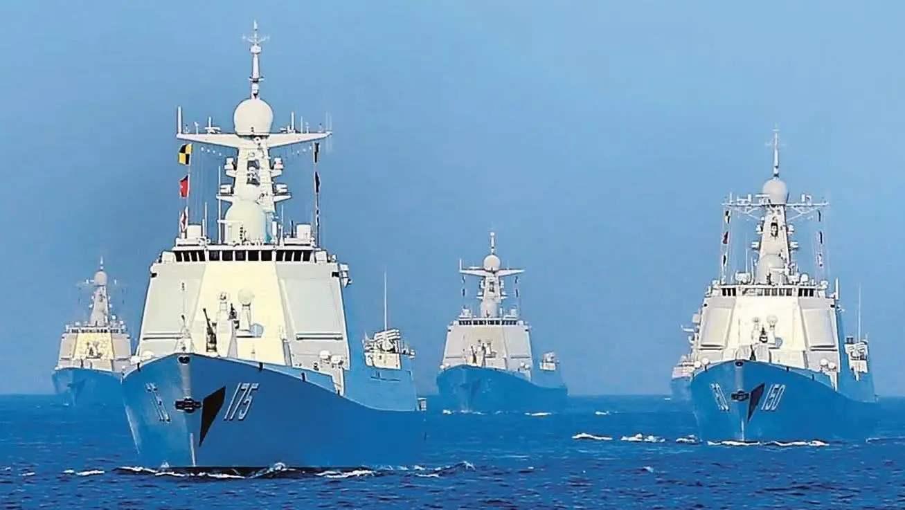 """美海军转型对陆,我国却以制空为先,""""摸鹰酱过河""""绝非全盘照搬"""