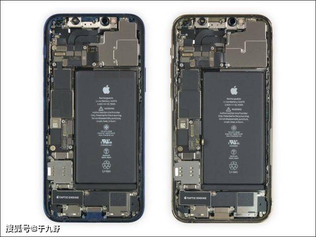 原创             实机拆解揭秘!苹果iPhone 12、iPh