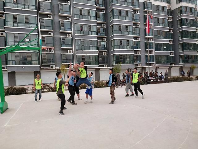 这边风景独好 一场竞技篮球比赛 在石家庄圆满举行