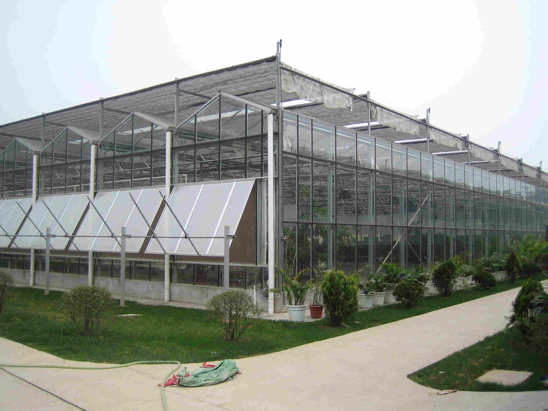 学习连栋膜温室建设,免费提供温室设计图纸,一眼就能看明白。