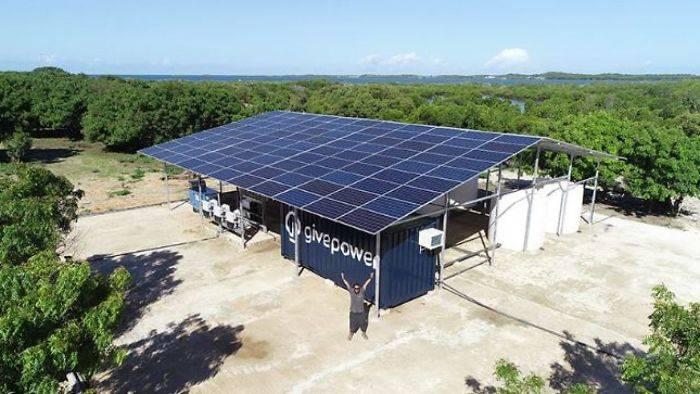 """肯尼亚首座""""太阳能发电厂""""完工!居民兴奋:终于有干净的水"""