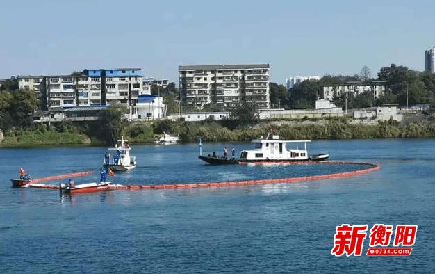 衡阳市开展水上交通应急救援演习 提升水上应急救援水平