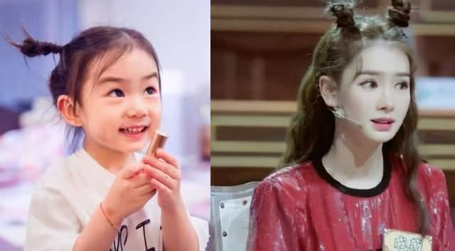 """戚薇和女儿已经够像了?那是没见过杨幂和女儿,更是""""复制粘贴"""""""
