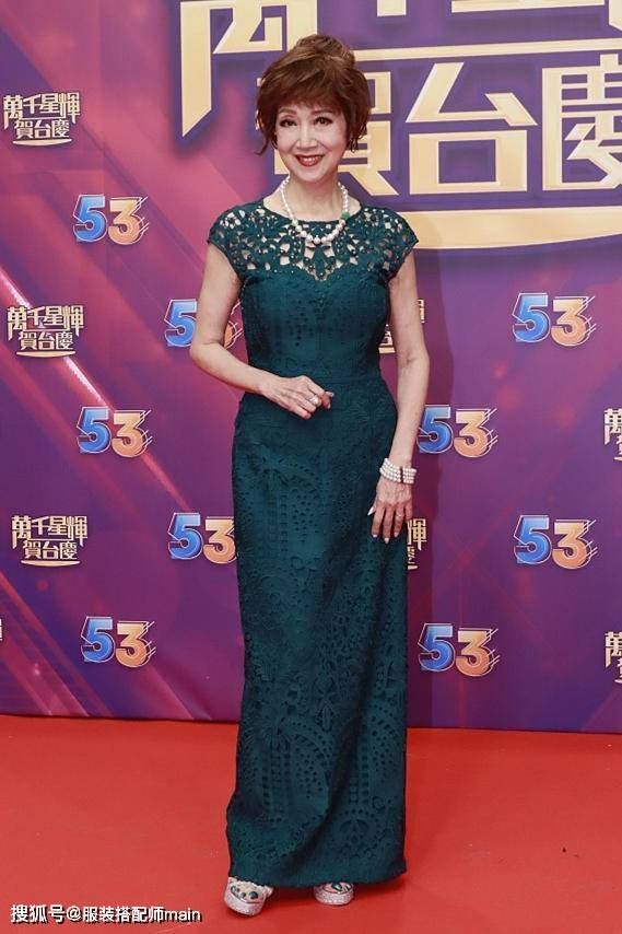 原创             TVB台庆被嘲土味,女明星影楼风礼服扎堆,老前辈打扮比年轻人美