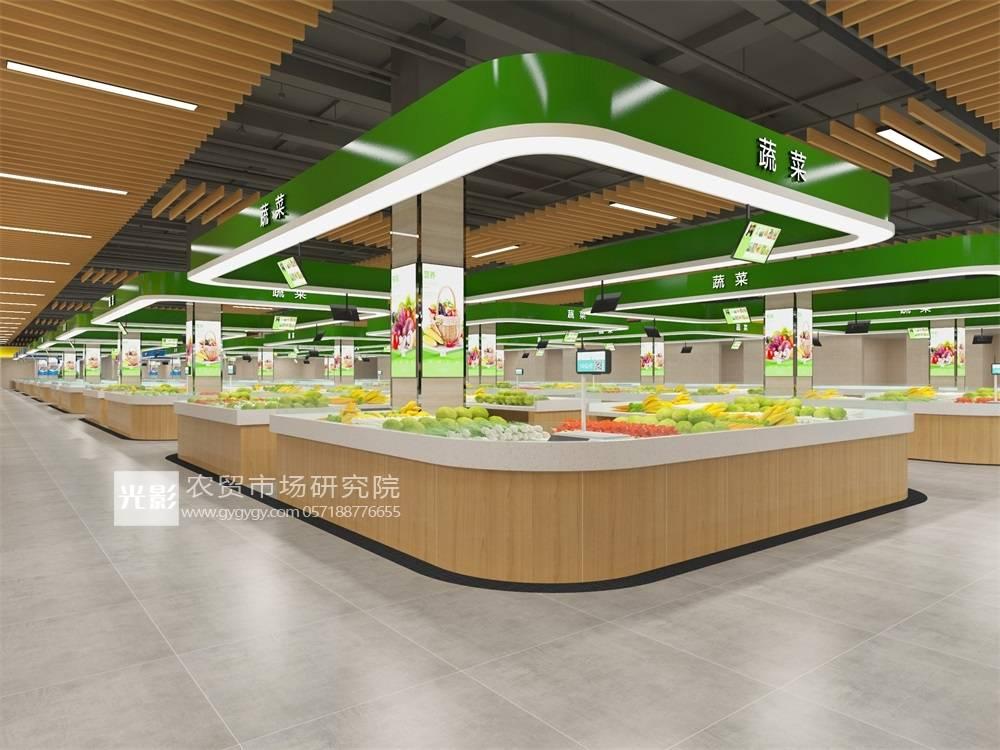沧州菜市场设计—沧州菜市场装修设计—沧州菜市场设计图:欧宝体育