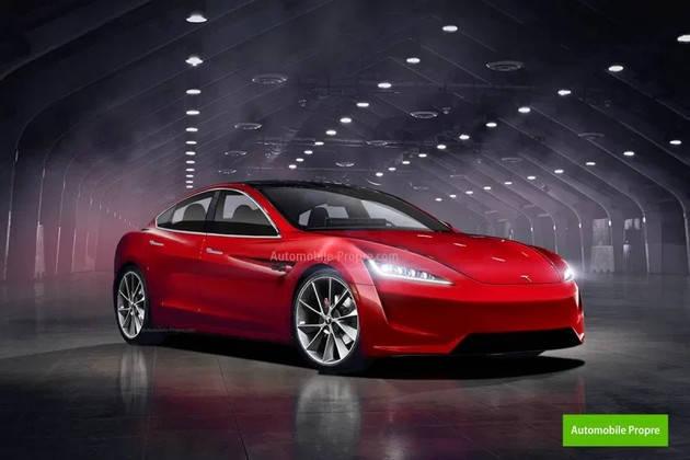 """越来越有""""跑车味"""",全新特斯拉Model S太帅了!"""