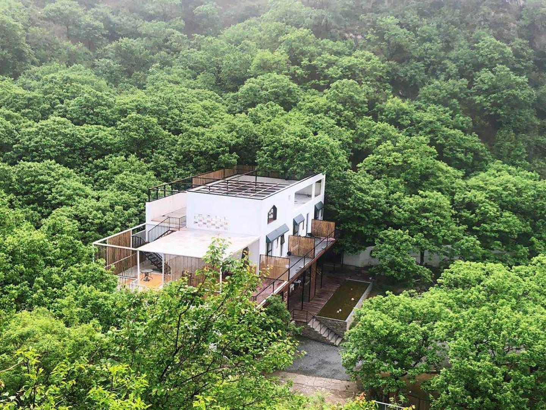 原创             在北京周边找一处林间小屋,白天林间漫步夜晚躺着看星空
