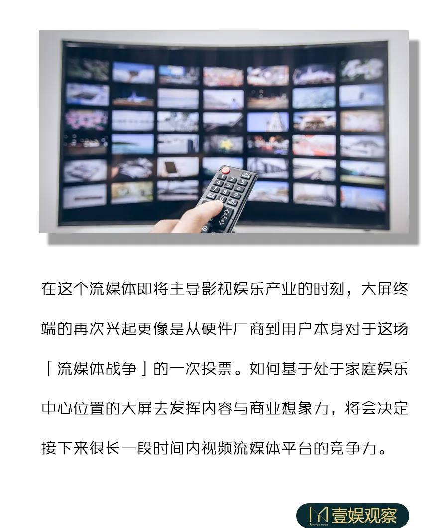 抢占大屏,流媒体下一个十年的取胜之道