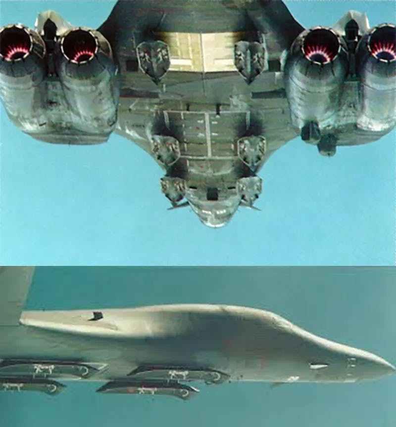 美军轰炸机有火力不足恐惧症?宁可牺牲隐形,要带36枚巡航导弹