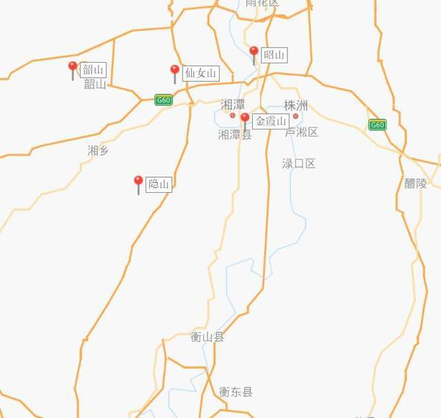原创             韶峰那么高,为何没有入选湘潭四大名山?看完地图我懂了
