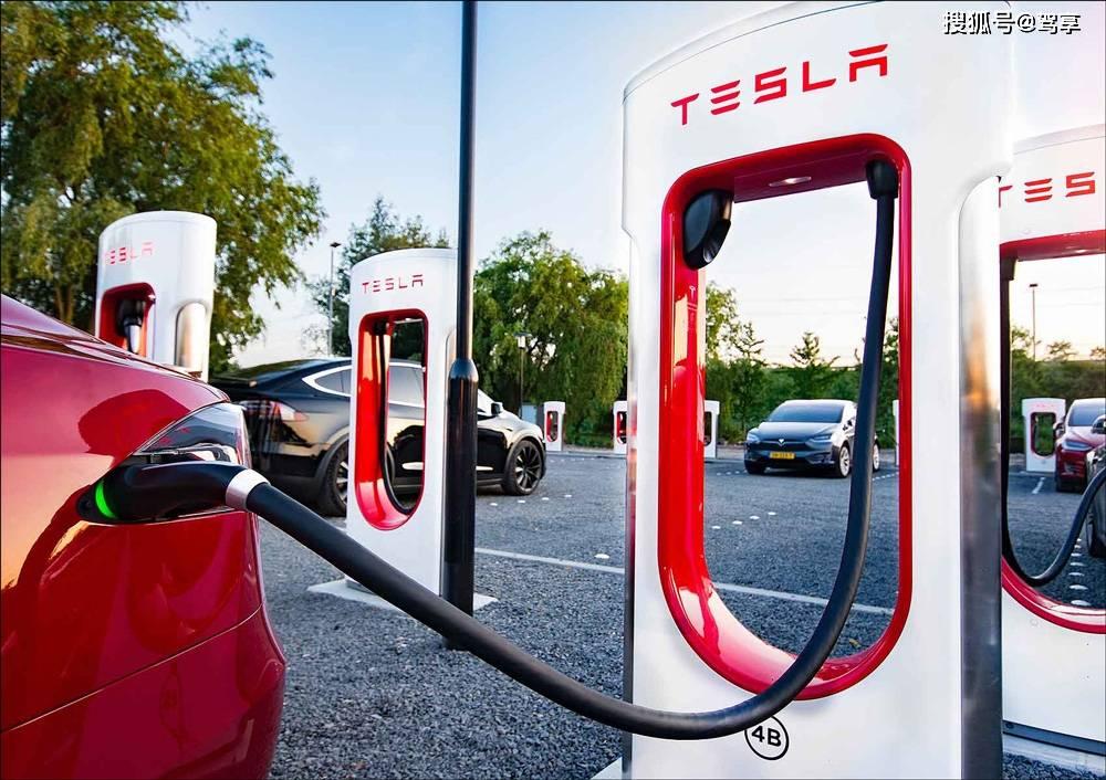 特斯拉超级充电站在中国达500座,位居全球第二,近一年增加200座