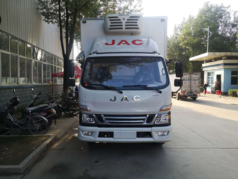 JAC凌俊V6国家六云150马力冰箱汽车图片价格