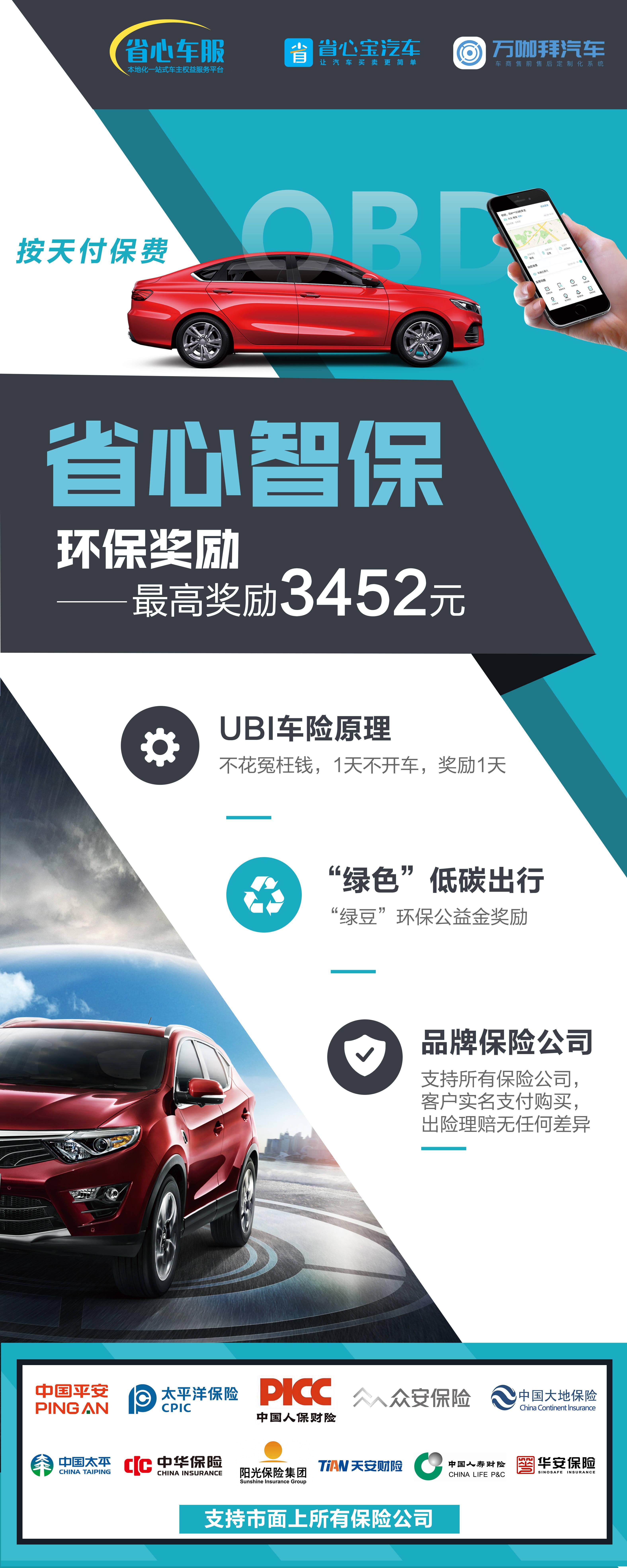 省级精神保险三大亮点——UBI车险原则、车主权益、智能车