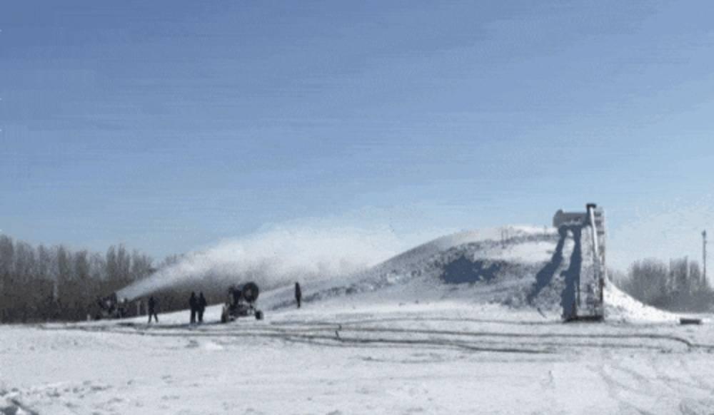 包头赛罕塔冰雪文化艺术节开幕啦