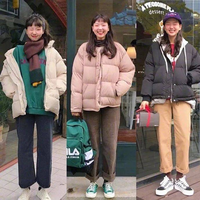 保暖还能带点小可爱,18套冬季女生日常堆叠搭配推荐