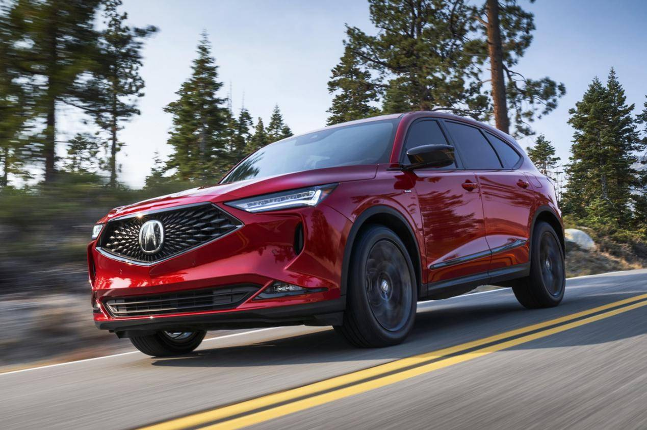 原装提供大排量自吸/涡轮增压选项。大7座SUV的新讴歌MDX能翻车吗?