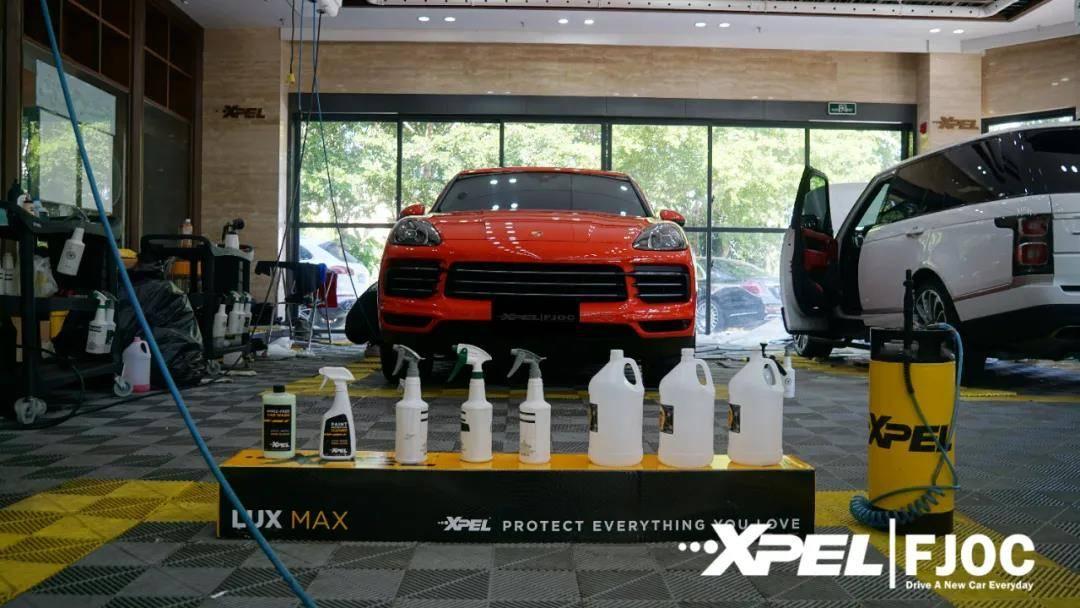 福建是贴汽车涂料保护膜的好地方XPEL福州运营中心