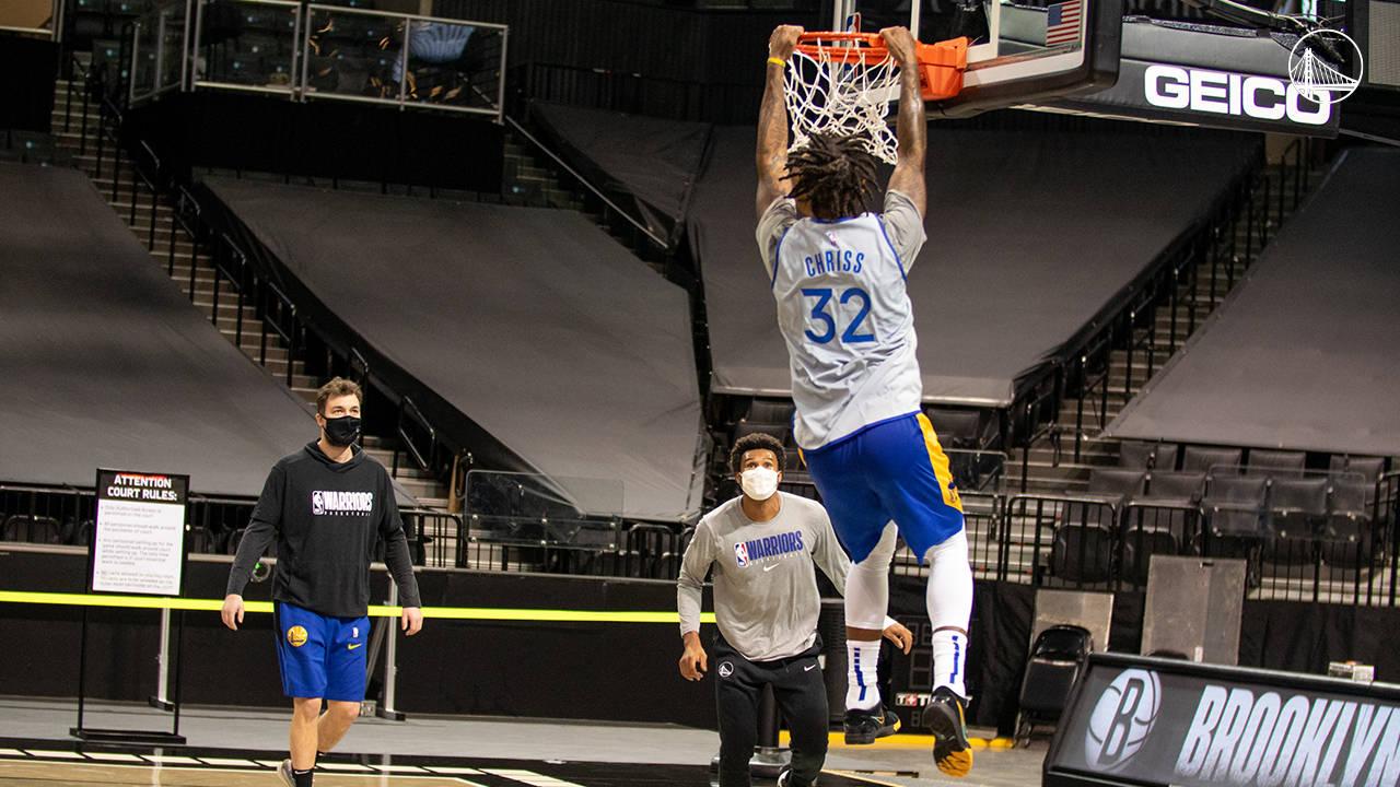 金州勇士队全队飞往布鲁克林等候12月23日与篮网的揭幕战