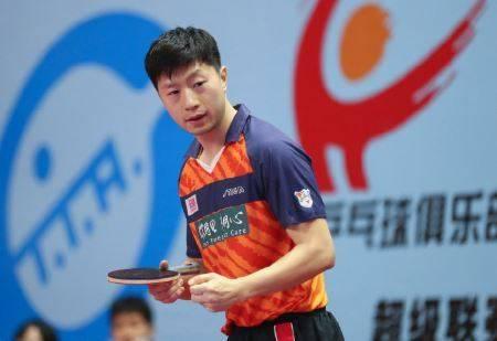 马龙在与袁励岑竞赛中,1-3输给对手!