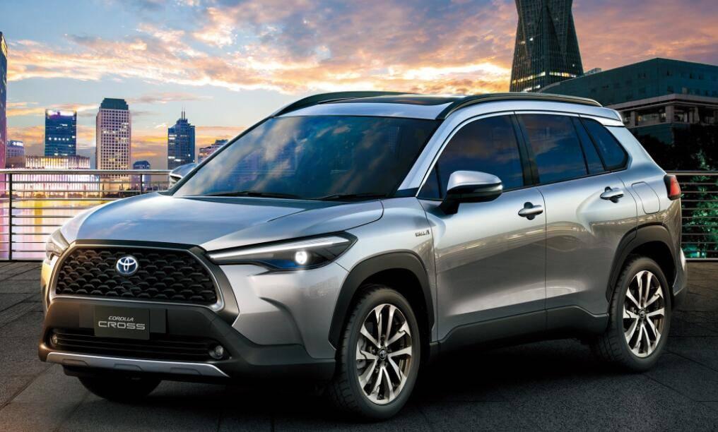 原厂卡罗拉SUV亮相,油耗5.4L,关键值不亏
