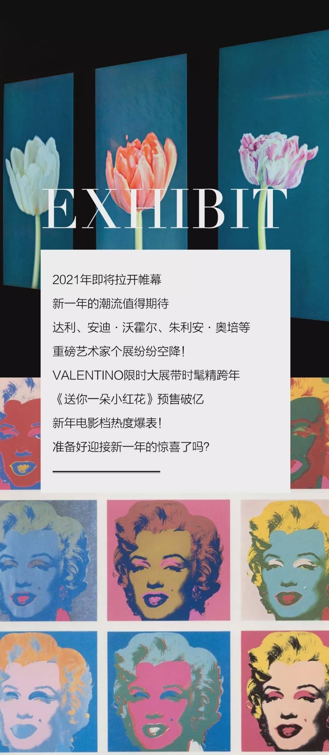 新年展览活动图鉴,达利、安迪·沃霍尔个展重磅来袭!_票价