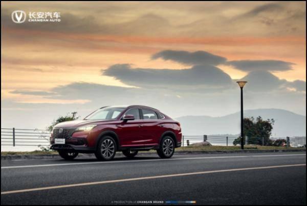 长安Coupe SUV——2021 CS85 COUPE实车照片正式曝光!