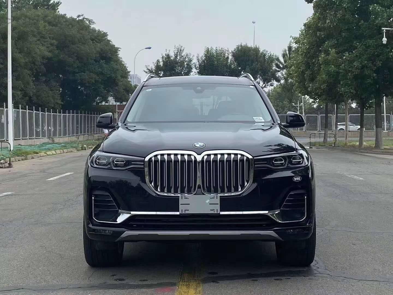 2020新款宝马X7尖端越野旗舰车型有彩色可选