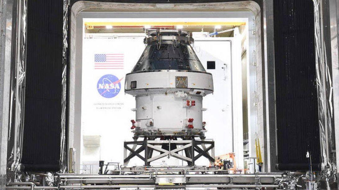 美国国家航空航天局(NASA)为2021年的月球梦和火星希望拍摄宣传片