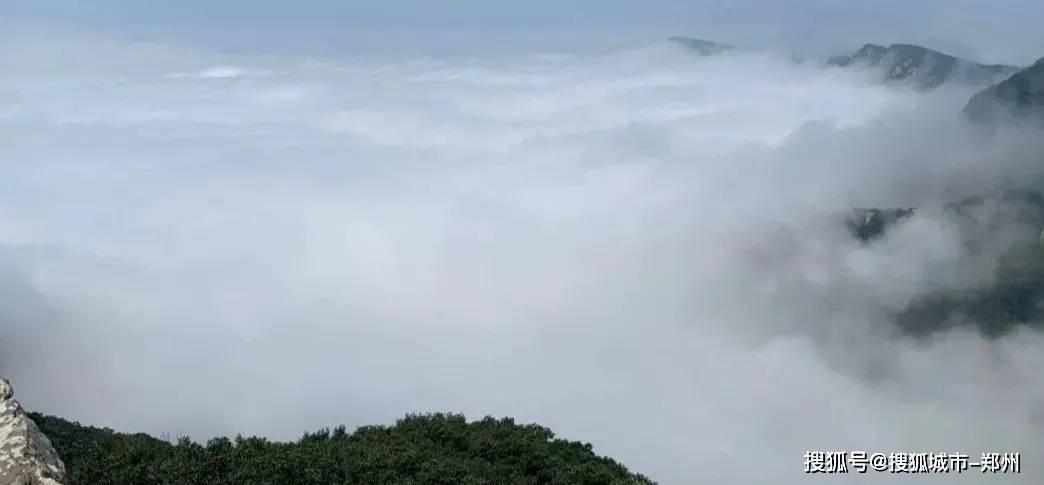 2021开启全新之旅,来嵩山看日出、观云海、赏雪景