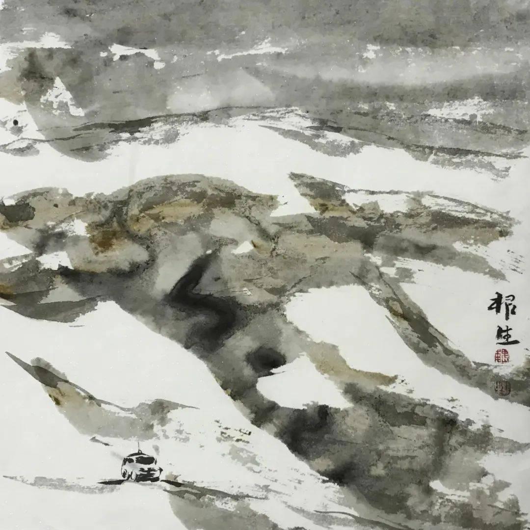 【画廊推荐】画家魏根生:行旅者印象_cm