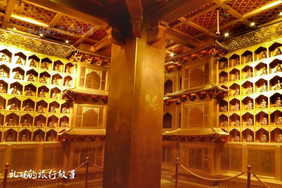 山西这座寺庙 有国内最大纯铜地宫 罕见露齿观音被誉为东方维纳斯  第8张