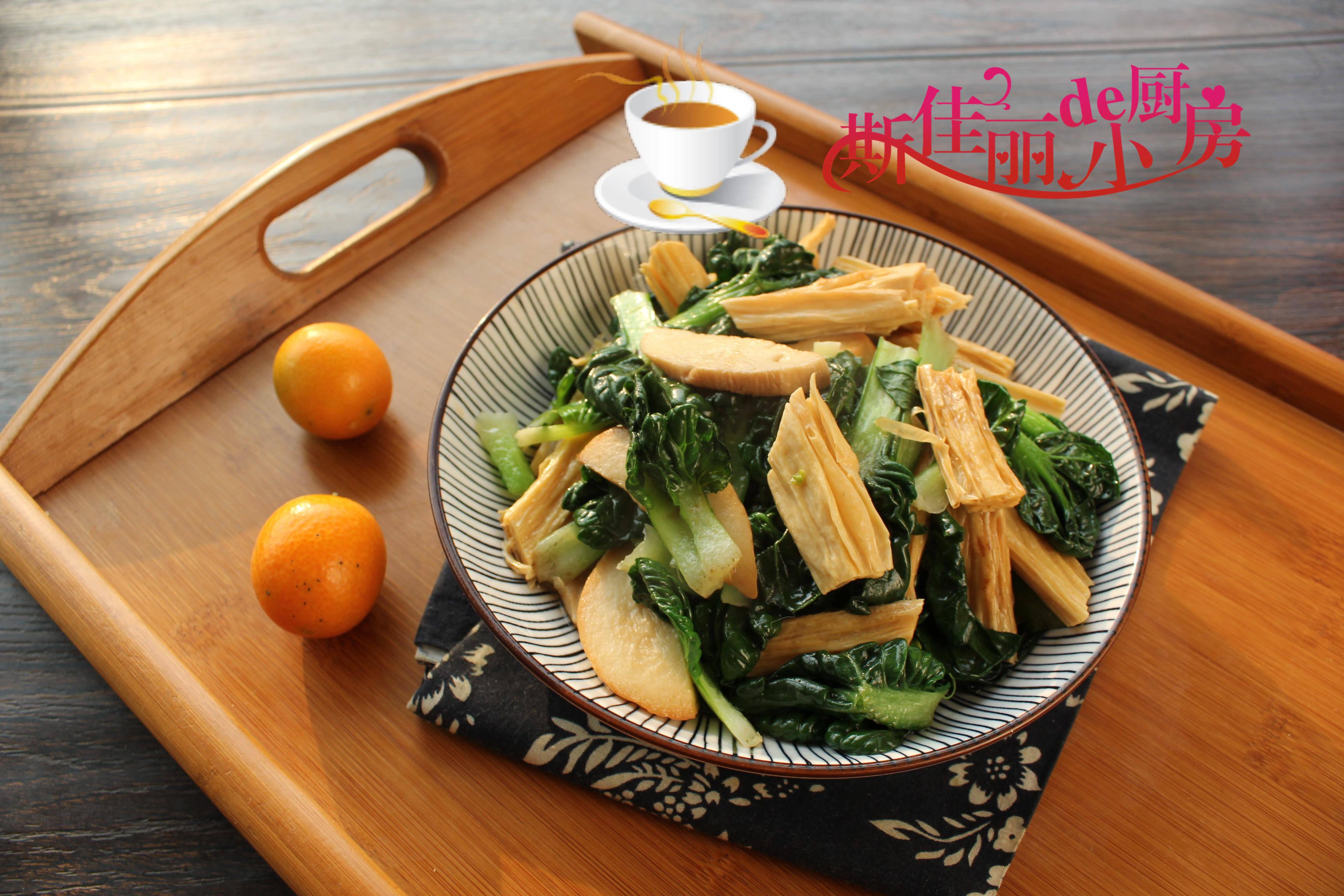 这三样素菜一起炒实在鲜美极了,宁可少吃肉也要吃它,营养又美味