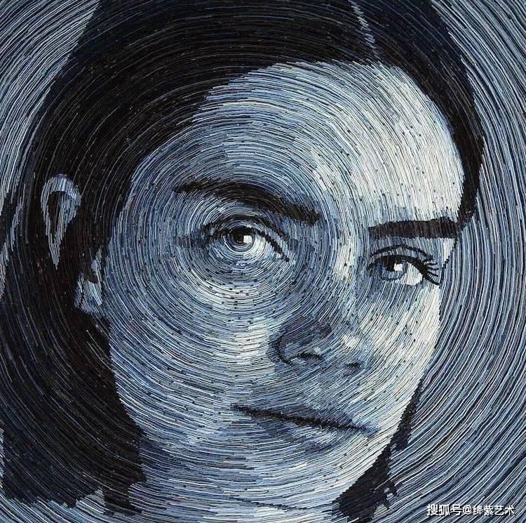 """一幅普通的肖像画,放大再来看,让人""""哇""""出声来_德尼萨"""
