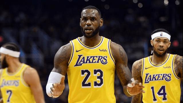 原创             5项前三,7项前八!湖人有NBA冠军相,詹姆斯期待和哈登交手