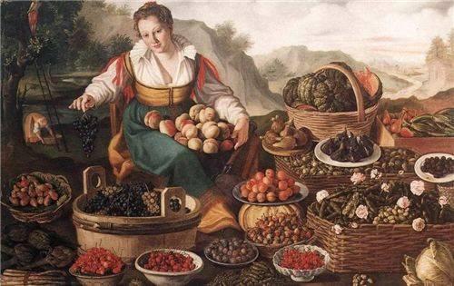中世纪,欧洲人穷得只有黑面包、炖豆子吃的时候,中国人在吃啥?